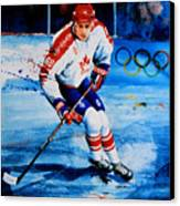 Lindros Canvas Print by Hanne Lore Koehler