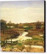 Lingering Autumn Canvas Print by Sir John Everett Millais