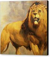 Lion  Canvas Print by William Huggins