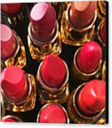 Lipstick Rows Canvas Print by Garry Gay