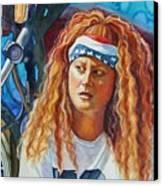 Lisa's Ride Canvas Print