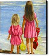 Little Beachcombers Canvas Print by Joni McPherson