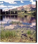 Little Molas Lake Colorado Canvas Print