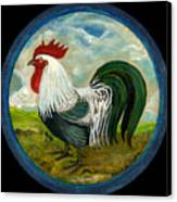 Little Rooster Canvas Print by Anna Folkartanna Maciejewska-Dyba