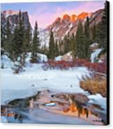 Little Stream Canvas Print by Wayne Boland
