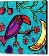 Little Toucan Canvas Print