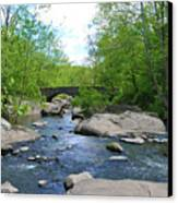 Little Unami Creek - Pennsylvania Canvas Print by Bill Cannon