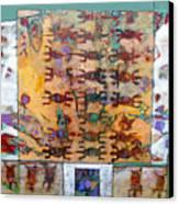 Lizard Abacus Canvas Print