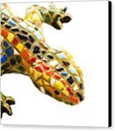 Lizard Souvenir By Antony Gaudi Canvas Print