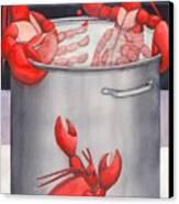 Lobster Spa Canvas Print