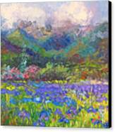 Local Color Canvas Print by Talya Johnson