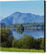 Loch Leanne Painting Killarney Ireland Canvas Print