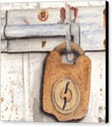 Lock And Latch Canvas Print