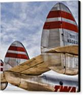 Lockheed Constellation Canvas Print