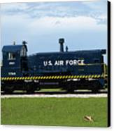 Locomotive For Titan Rockets At Cape Canaveral In  Florida Canvas Print