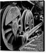 Locomotive Canvas Print by Joe Bonita