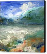 Lombard Lake Canvas Print