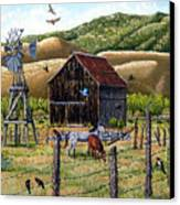 Lompa Valley Ranch Canvas Print