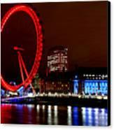 London Eye Canvas Print by Heather Applegate