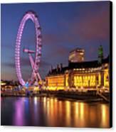 London Eye Canvas Print by Stuart Stevenson photography