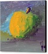 Lone Apple Canvas Print by Steve Jorde