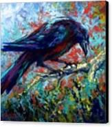 Lone Raven Canvas Print