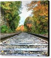 Lonely Tracks Canvas Print