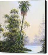 Lonesome Palm Canvas Print