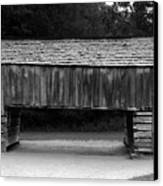 Long Barn Canvas Print