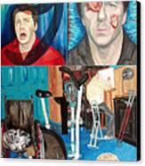 Long Disease Canvas Print