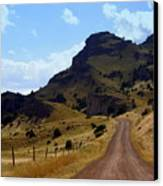 Lonly Road Canvas Print