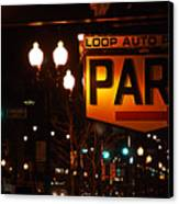 Loop Auto Park Canvas Print by Jame Hayes