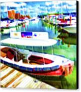 Loose Cannon Water Taxi 1 Canvas Print by Lanjee Chee