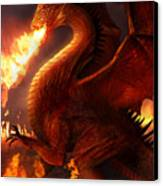 Lord Of The Dragons Canvas Print by Philip Straub