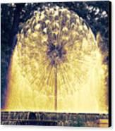 Loring Fountain Canvas Print by Rashelle Brown