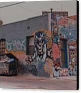 Los Angeles Urban Art Canvas Print