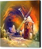 Los Molinos Del Quijote 01 Canvas Print