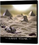 Lost Time Canvas Print by Mike McGlothlen