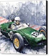 Lotus 18 F2 Canvas Print by Yuriy  Shevchuk