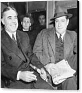 Louis Capone 1896-1944 And Emanuel Canvas Print by Everett