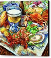 Louisiana 4 Seasons Canvas Print by Dianne Parks