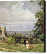 Louveciennes Canvas Print by Camille Pissarro