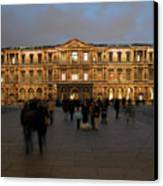 Louvre Palace, Cour Carree Canvas Print by Mark Czerniec