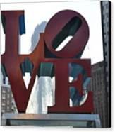 Love Canvas Print by Brynn Ditsche