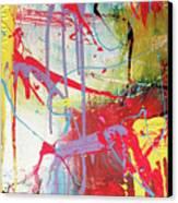 Love In Space Canvas Print by Robert Daniels