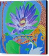 Love In The Garden Of Eden Canvas Print