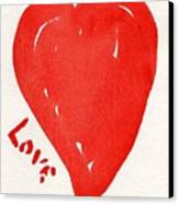 Love Is.... Canvas Print by Roger Cummiskey