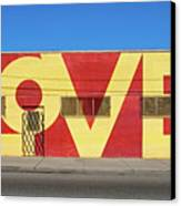 Love Store Front Canvas Print by David Kyte