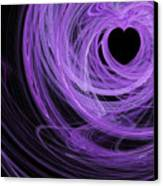 Love Swirls . Square . A120423.689 Canvas Print