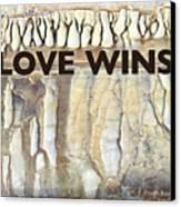 Love Wins Canvas Print by Kevyn Bashore